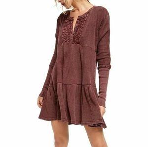 NWT Free People Jolene Mini Dress